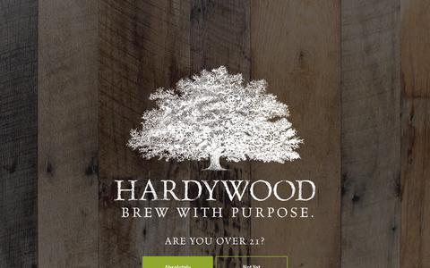 Screenshot of Press Page hardywood.com - Category: Press | Hardywood - captured Sept. 27, 2018