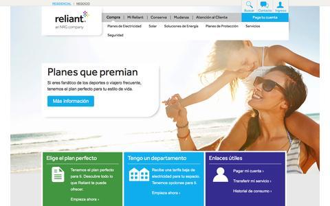 Reliant Energy | Una compañía de NRG