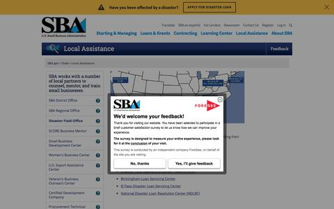 SBA Offices and Resource Partners | The U.S. Small Business Administration | SBA.gov