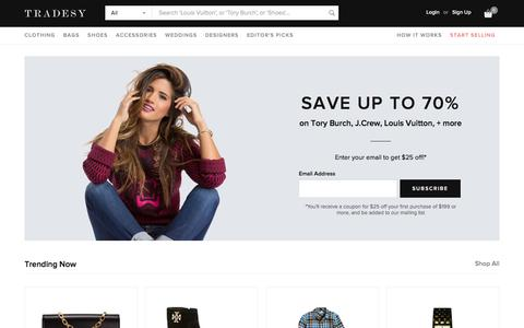 Tradesy | Buy & Sell Bags, Shoes, Clothes | Buy & Sell Wedding Dresses