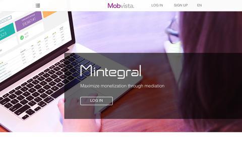Screenshot of Developers Page mobvista.com - Mobvista - captured June 12, 2017