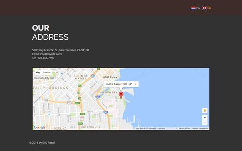 Screenshot of Maps & Directions Page tndweb.com - tND Retail | A trusted advisor to the Board | MAP - captured Dec. 1, 2016