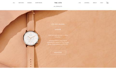 Screenshot of Products Page the5th.co - Affordable Men's & Women's Watches   Accessories   Bags Online - captured July 9, 2018