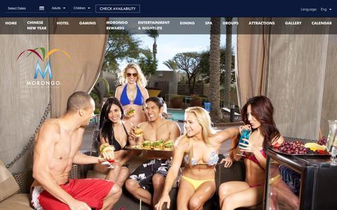 Screenshot of Signup Page morongocasinoresort.com - Casino Deals | SoCal Resort | Morongo Casino Resort - captured Feb. 2, 2017