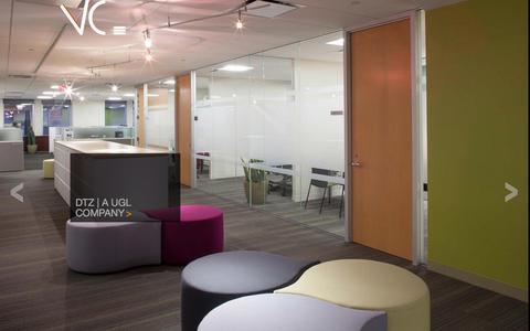 Screenshot of Home Page vca-arch.com - Boston Architects and Interior Design | Visnick & Caulfield Associates, Inc. - captured Dec. 4, 2015