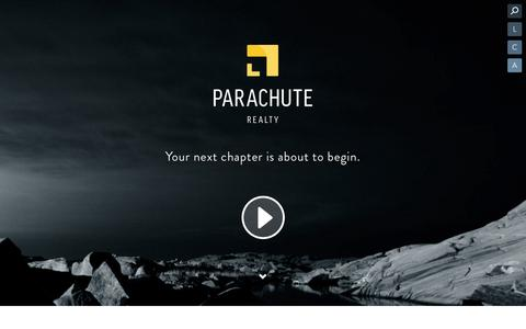 Screenshot of About Page parachuterealty.ca - Welcome | Parachute Realty - captured Sept. 29, 2014