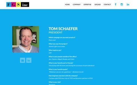 Screenshot of Team Page fgs-inc.com - People   FGS, Inc. - captured Jan. 8, 2016