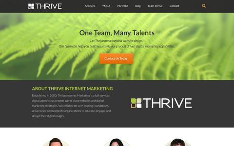 Internet Team Pages | Website Inspiration and Examples | Crayon