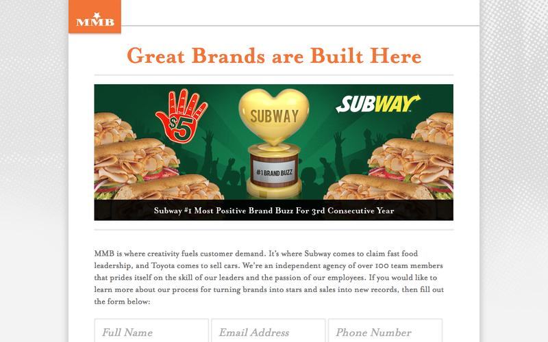 Great Brands are Built Here - MMB