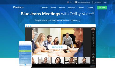BlueJeans Meetings | BlueJeans Network