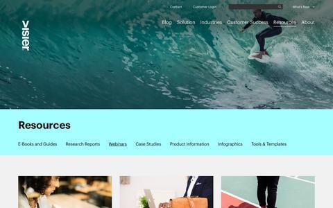 Webinars   Visier Inc.