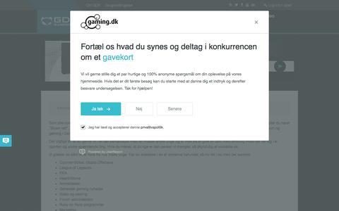 Screenshot of Jobs Page gaming.dk - Gaming.dk - captured Aug. 29, 2016