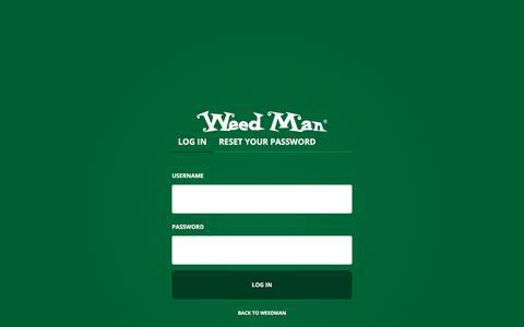Screenshot of Login Page weedmancanada.com - Log in | Weed Man Canada - captured June 29, 2018