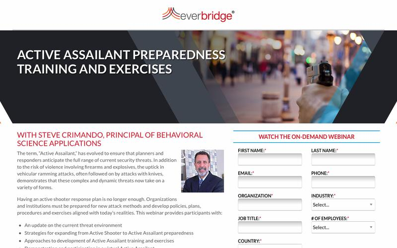 Active Assailant Preparedness Training and Exercises