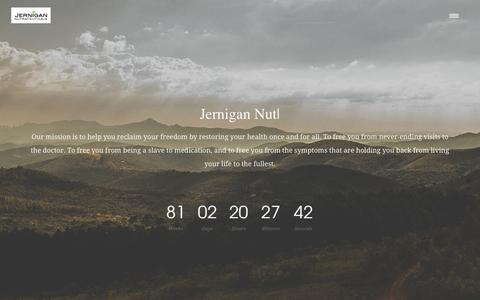 Jernigan Nutraceuticals | Just another WordPress site