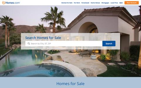 Homes for Sale and Real Estate Listings | Homes.com