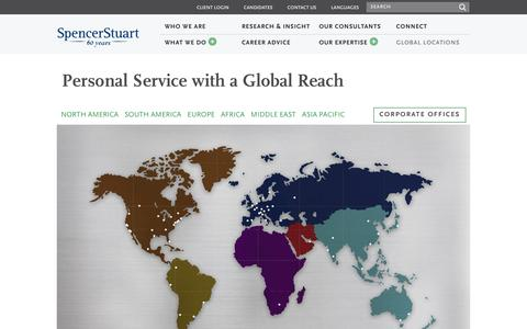 Global Locations | Spencer Stuart