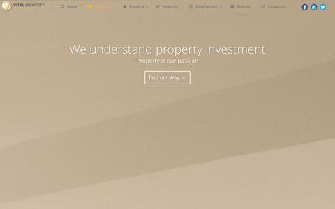 Screenshot of About Page vitalpropertygroup.com - Vital Team | Vital Property Group - captured Jan. 11, 2016