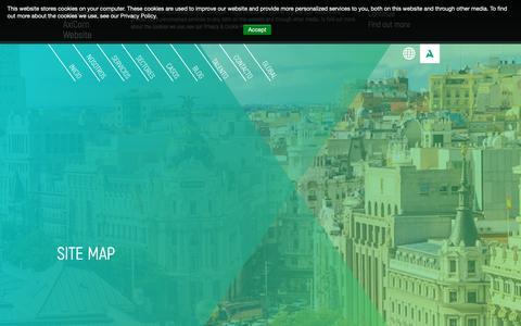Screenshot of Site Map Page axicom.com - AxiCom Site Map - AxiCom - Spain - captured Oct. 22, 2018