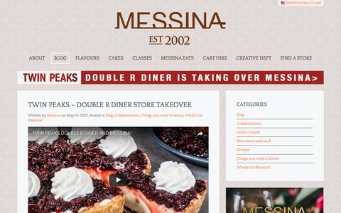 Screenshot of Blog gelatomessina.com - Blog | Gelato Messina Australia - captured May 15, 2017