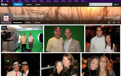 Screenshot of Flickr Page flickr.com - Flickr: Association Studios' Photostream - captured Oct. 23, 2014