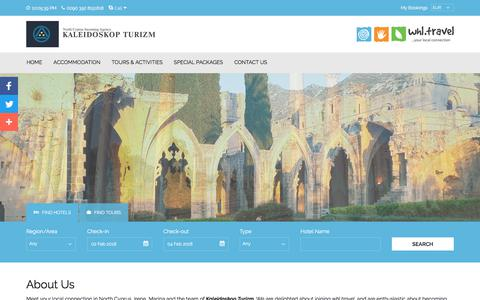 Screenshot of About Page north-cyprus.travel - North Cyprus Travel Team | North Cyprus Tourism Office - captured Jan. 30, 2018