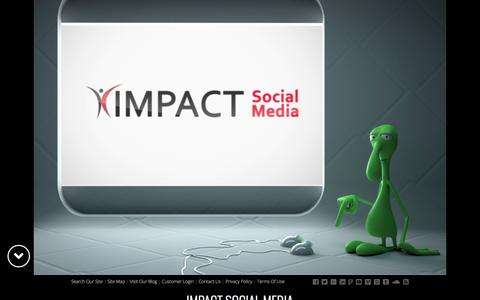 Screenshot of Home Page impactsocialmedia.net - Impact Social Media in Kansas City for Digital Marketing - captured Sept. 13, 2018
