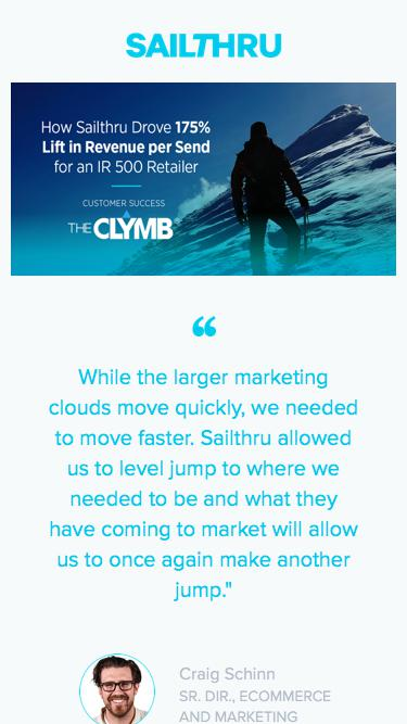 Sailthru for the Clymb - download case study