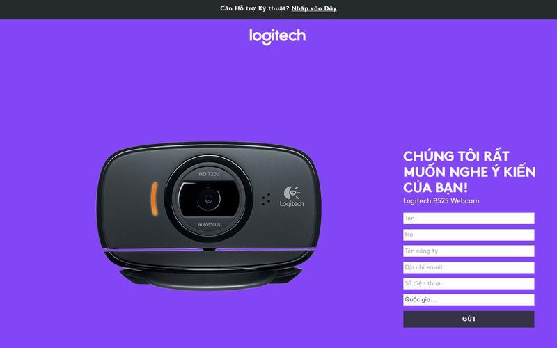 Logitech B525 Webcam | Contact Us