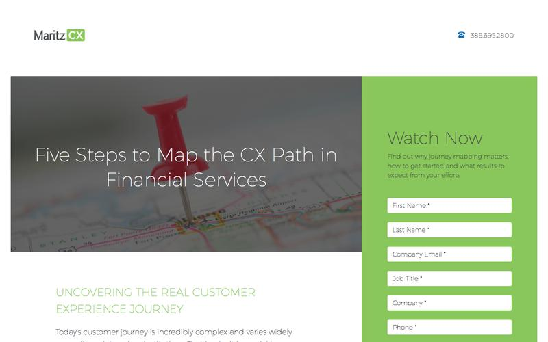 Five Steps to Map the CX Path in Financial Services | MaritzCX