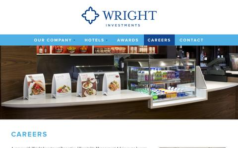 Screenshot of Jobs Page wrightinvestments.com - Careers | Wright Investment Properties - captured Oct. 26, 2014