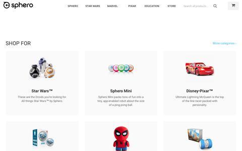Connected Toys by Sphero – Sphero Store