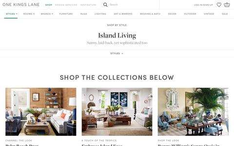 Island Living | One Kings Lane | One Kings Lane