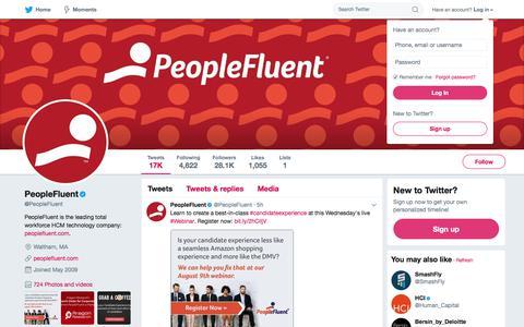 PeopleFluent (@PeopleFluent)   Twitter