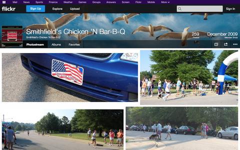 Screenshot of Flickr Page flickr.com - Flickr: Smithfield's Chicken 'N Bar-B-Q's Photostream - captured Oct. 26, 2014