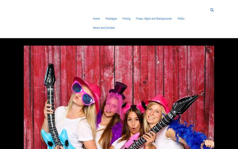 Screenshot of Pricing Page partytimebooth.com - Pricing – A WordPress - captured July 16, 2018