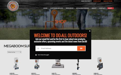 Product Categories  Megaboom Supersonic Targets | Do All Outdoors