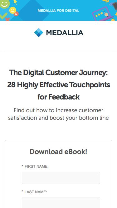 28 Highly Effective Touchpoints for Feedback - Medallia