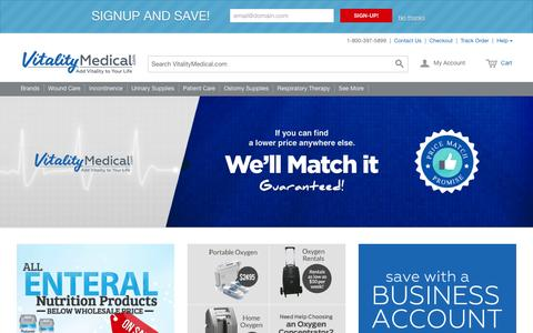 Vitality Medical | Medical Supplies Online