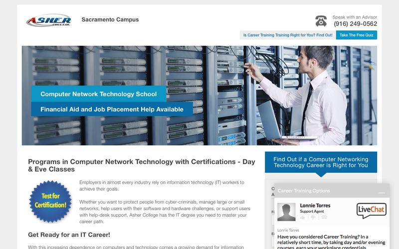 Associate of Applied Science Degree in Computer Network Technology