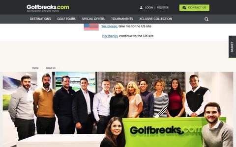 Screenshot of Jobs Page golfbreaks.com - Jobs at Golfbreaks.com | Join our Team | Inspiring and Rewarding Careers - captured Dec. 25, 2016