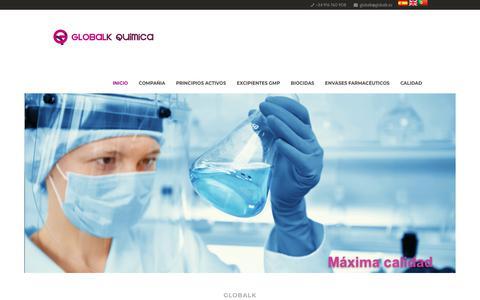 Screenshot of Home Page globalk.es - Globalk - captured Dec. 13, 2018