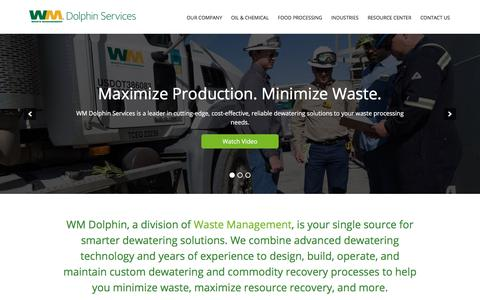 Centrifuge Processing and Resource Recovery | WM Dolphin