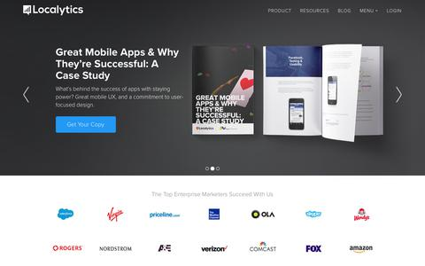 Mobile App Marketing, Analytics, Engagement | Localytics