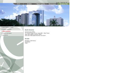 Screenshot of Locations Page goodrockcapital.com - GOODROCK CAPITAL .: Company Information :. - captured Sept. 30, 2014