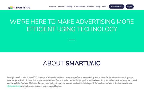 Smartly.io - About Us