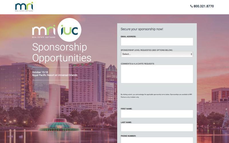 IUC Sponsorship Page