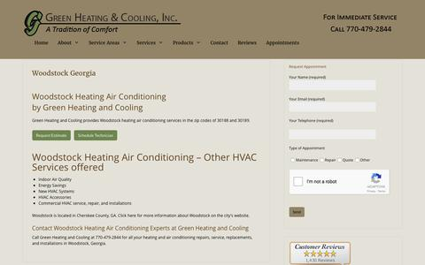Woodstock Heating Air Conditioning by Green Heating and Cooling