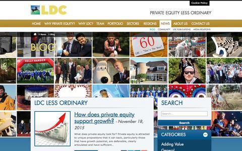Screenshot of Blog ldc.co.uk - The life and less ordinary times of LDC - captured Dec. 5, 2015