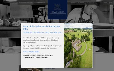 Screenshot of Press Page devonshirehotels.co.uk - Staff News - Devonshire Hotels & Restaurants - captured Nov. 24, 2016